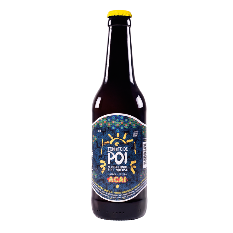 Cerveza artesanal 'Akai · Tonhito de Poi'