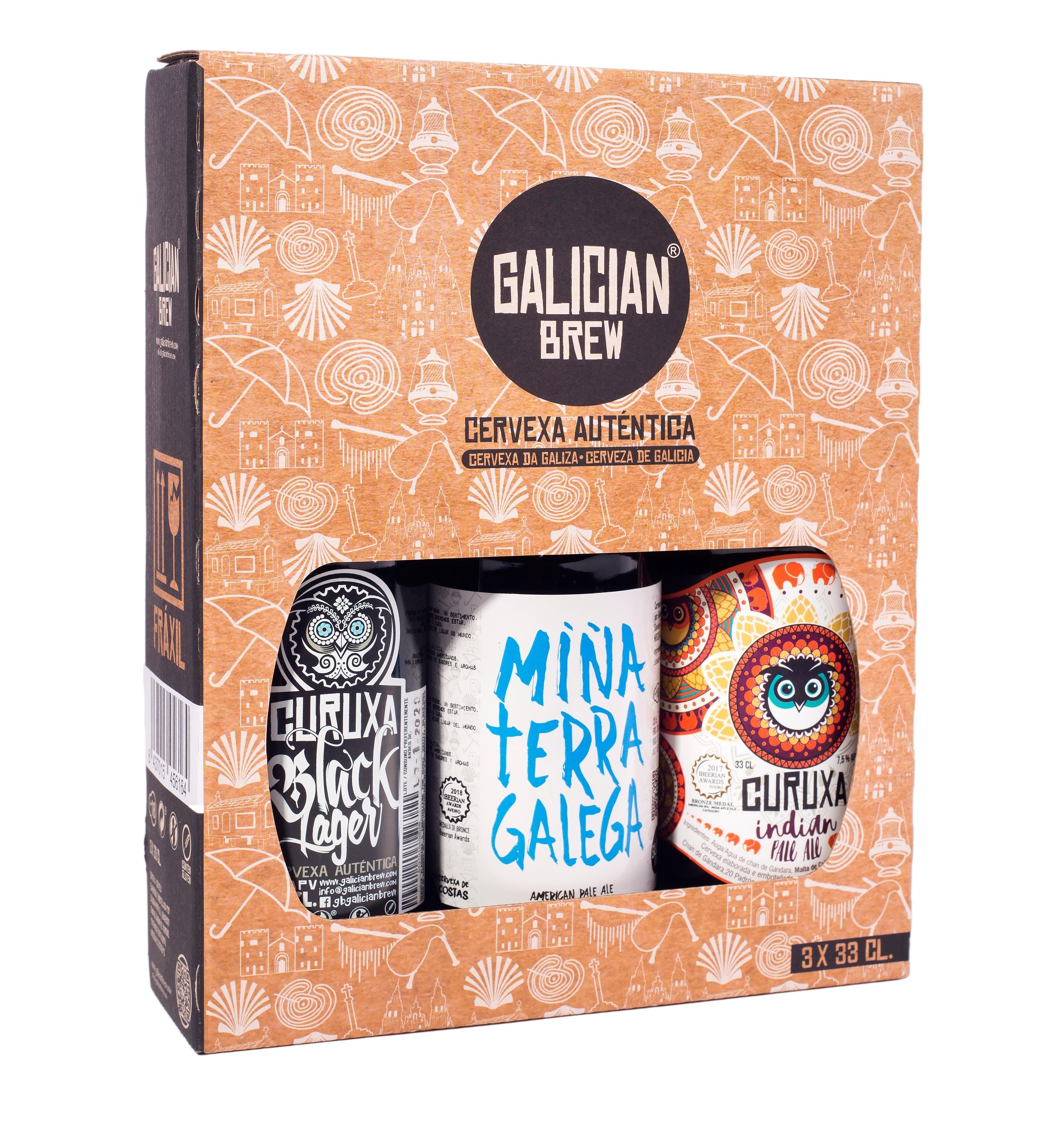 Pack regalo cerveza artesanal degustación
