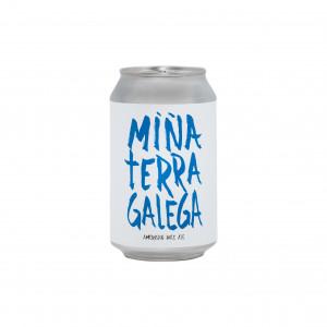 Cerveza artesanal 'Miña Terra Galega'  (lata 33 cl)